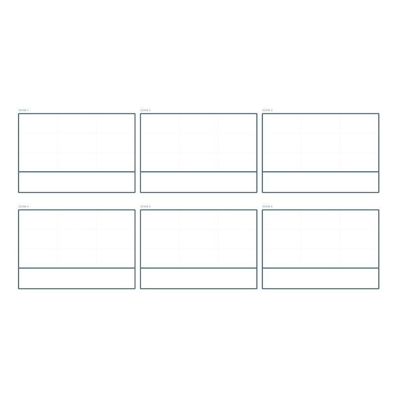 Storyboard Template | Moqups